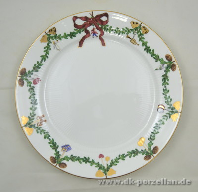 Star fluted Christmas - Teller flach 27,5cm